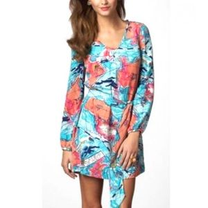 LILY PULITZER   X Marks the Spot Connie Dress